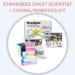 Prize for day 10 - Strawbees Crazy Scientist + Coding / Robotics Kit