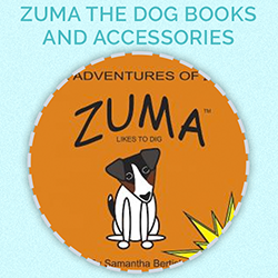 Prize for day 12 - Zuma the Dog books and accessories