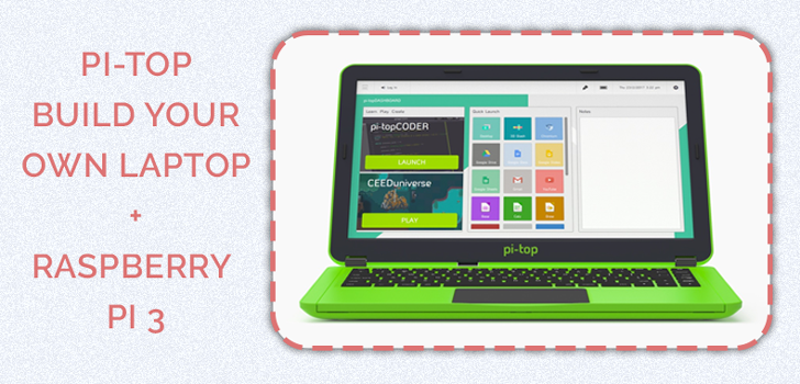 Prize for day 13 - Pi-Top Build your own laptop + Raspberry Pi