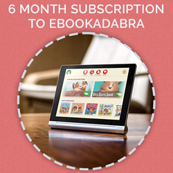 Prize for day 14 - 6 month subscription to Ebookadabra