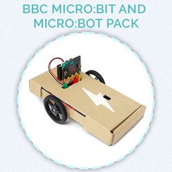 Prize for day 19 - BBC Micro:bit and Micro:bot pack