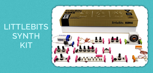 Prize for day 24 - Littlebits Synth Kit