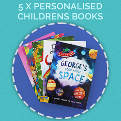 Prize for day 5 - Selection of personalised children's books